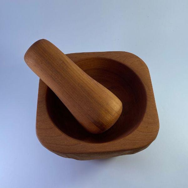 Mortero madera