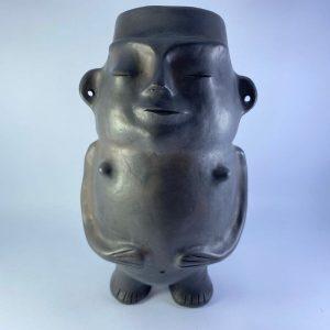 Reproducción cerámica precolombina estilo Pitrén