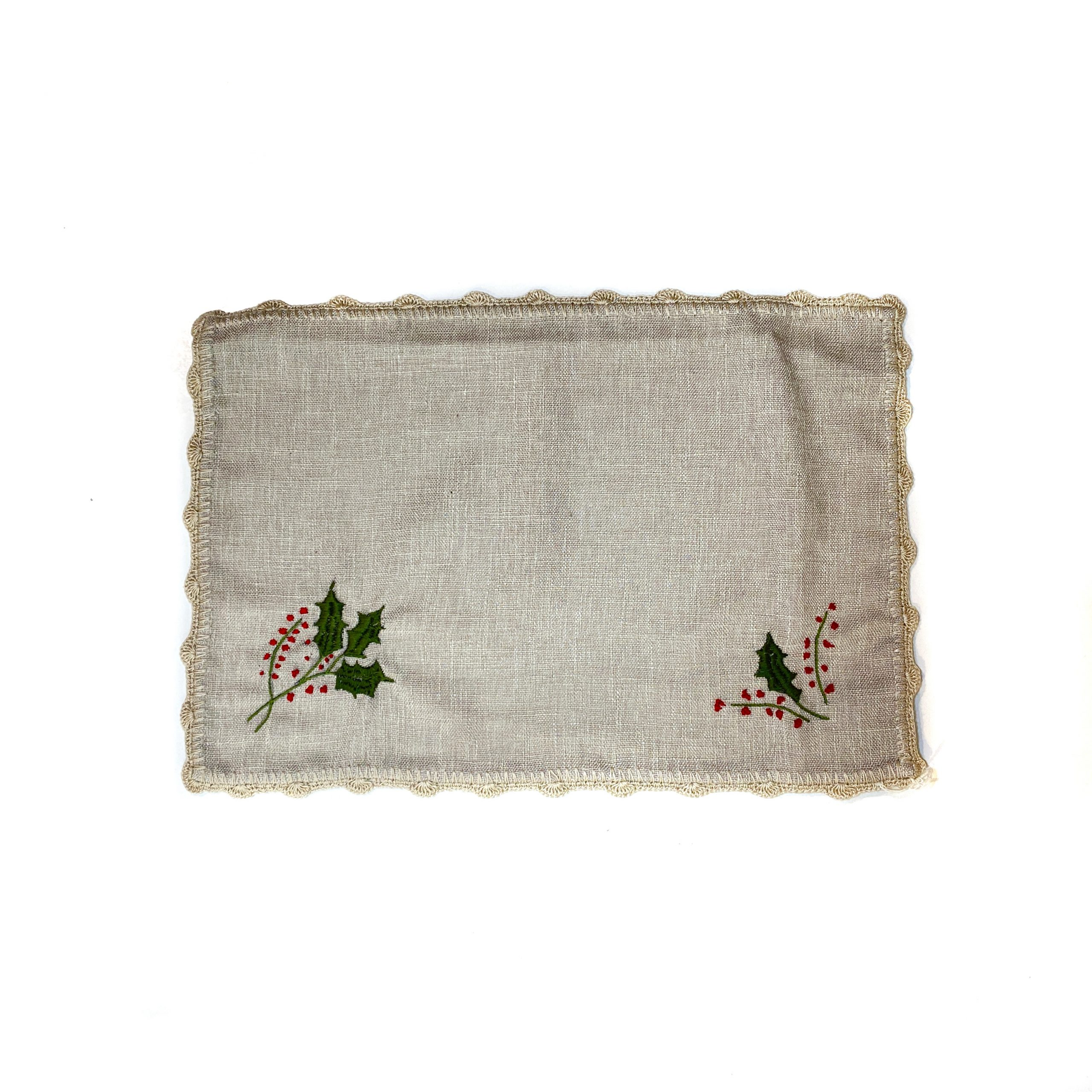 Carpeta bordada