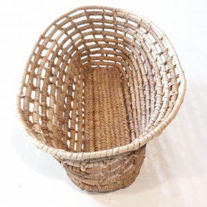 Canasto en fibra de ñocha