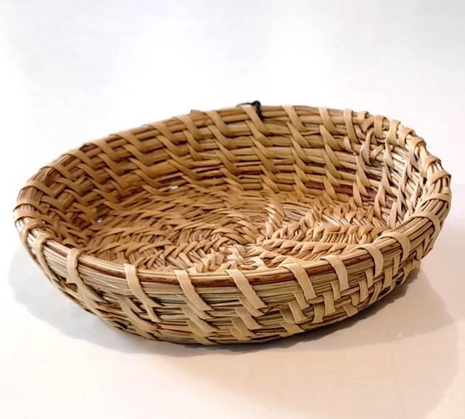 Plato en fibra de ñocha